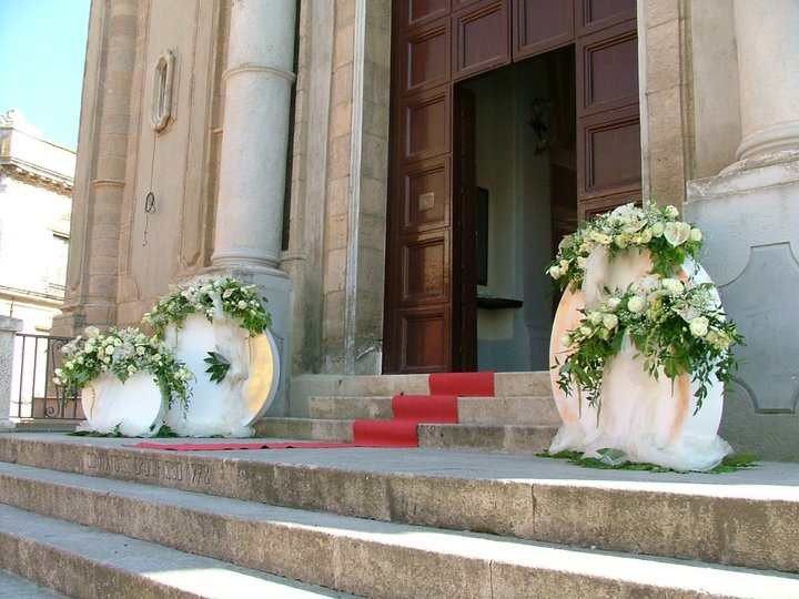 Addobbi Chiesa Matrimonio Country Chic : Addobbi chiesa di salvo fiori