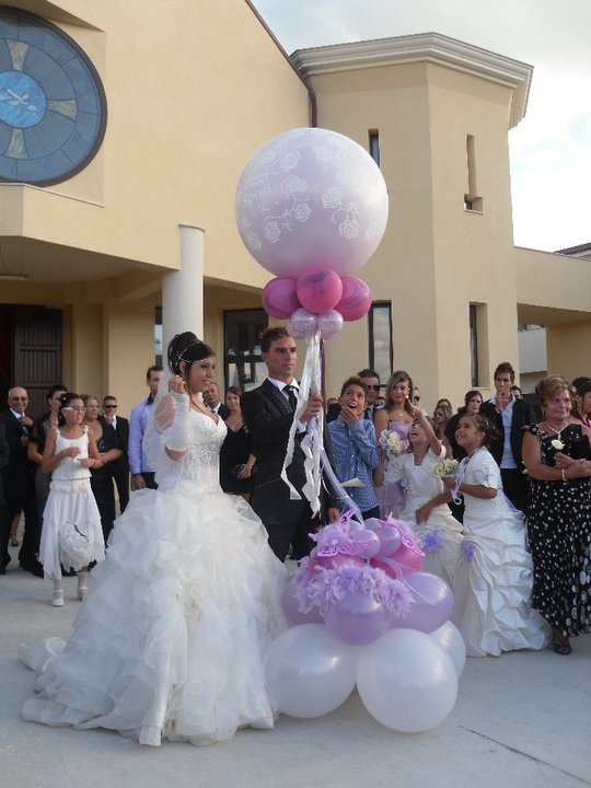 Balloon art di salvo fiori - Decorazioni matrimonio palloncini ...